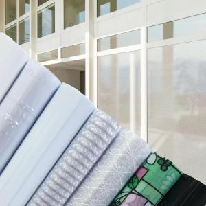 무점착 창문 시트지 암막(블랙, 화이트) 유리창시트지 안개 스트라이프 고방 투명 반투명 자외선차단 73종