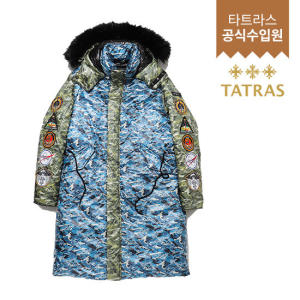 [타트라스(잡화)] 남성 딤막 DIM MAK DOWN QUILTED CAMO BLOCKED PARKA MTA2DM4644TT75