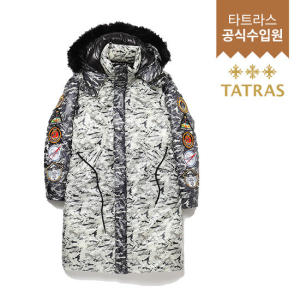 [타트라스(잡화)] 남성 딤막 DIM MAK DOWN QUILTED CAMO BLOCKED PARKA MTA2DM4644TT19