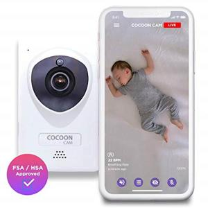 [해외]cocoon cam plus - baby monitor with breathing monitoring - updated 2019 version
