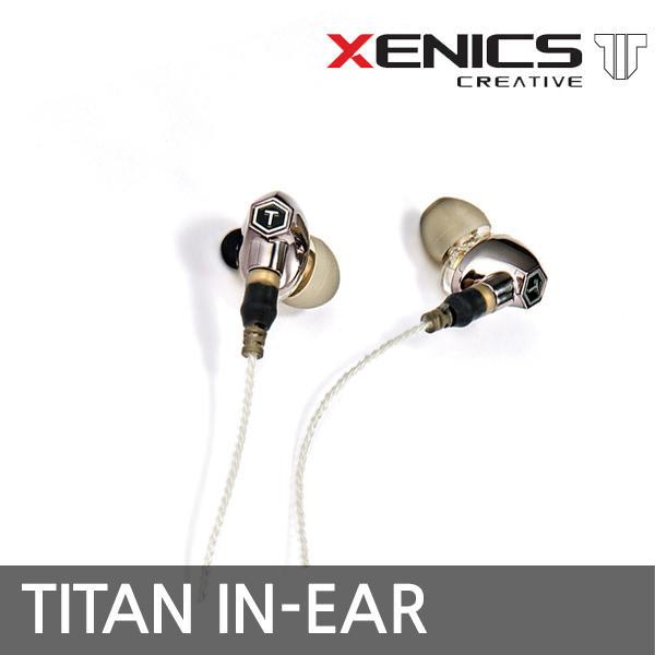 제닉스 TITAN IN-EAR 타이탄 인이어 이어폰