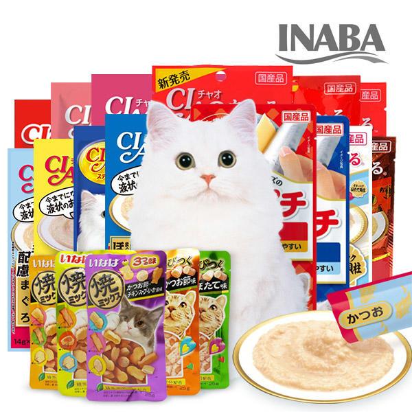 이나바 챠오츄르 고양이간식 4P X 1개