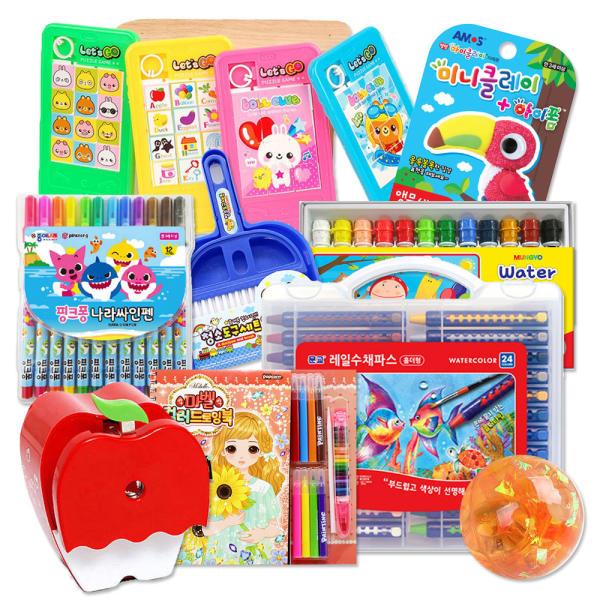 어린이집 유치원 생일선물 초등학교 학습준비물 단체선물 문구용품 학용품 문구세트