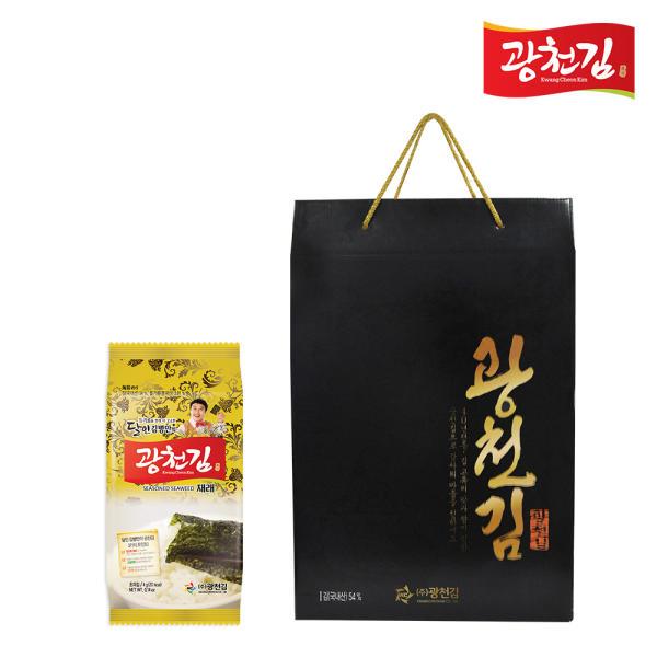 [광천김] 본사발송 달인 김병만의 재래 도시락김 선물세트 (4gX27봉)