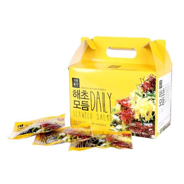 기장물산/DAILY모듬해초8gX5 /7가지해초/레몬소스/비빔소스
