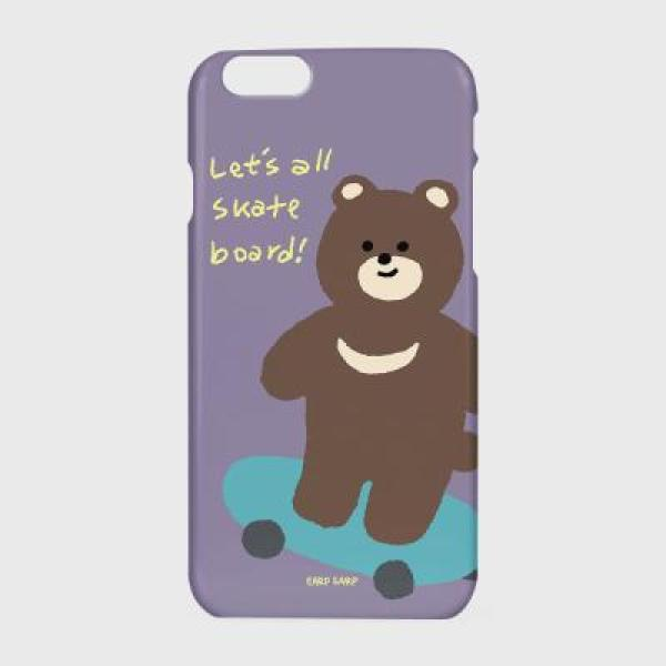 Board bear-purple(하드/터프/슬라이드) - SLIDE_IPHONE SE2