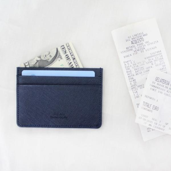 Leather simple card holder - 3 type/ 디랩