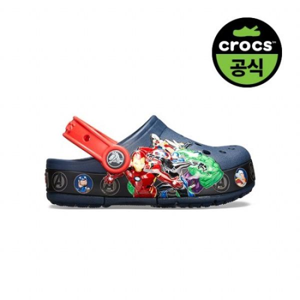 키즈 CROCS FL MARVEL BAND LGHT CLOG K NAVY 20SKCL205507