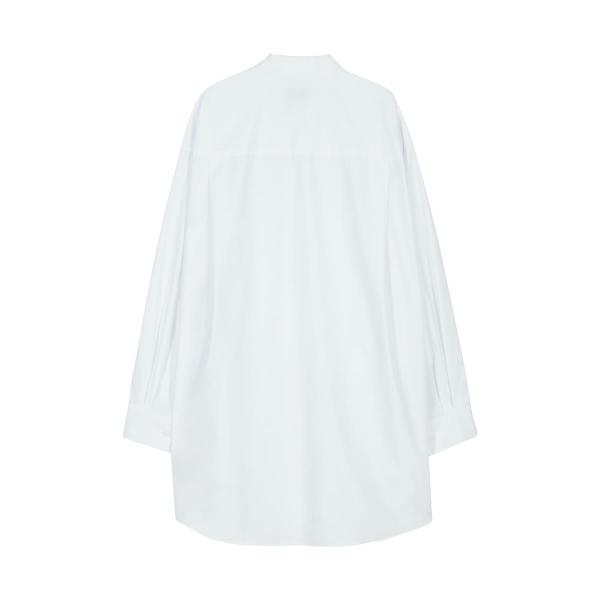 [RSVP] CONTOUR DRAWING OVER FIT SHIRTS_WHITE