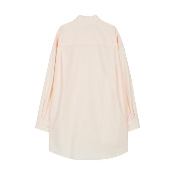 [RSVP] CONTOUR DRAWING OVER FIT SHIRTS_PINK