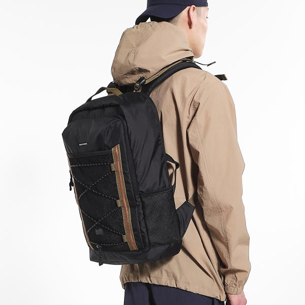 [브라운브레스] MESS BACKPACK - BLACK