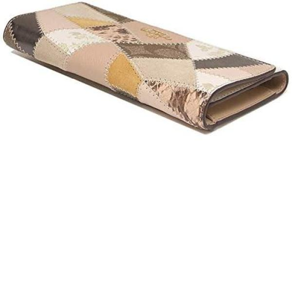 COACH / H950011381 / Coach Trifold Leather Wallet with Patchwork - #91098