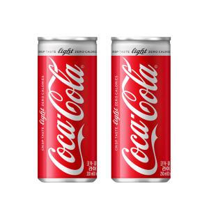 코카콜라[본사직영] 라이트콜라 캔, 250ml, 30개