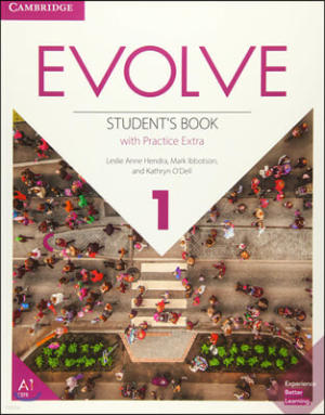 Evolve Level 1 Student Book with Practice Extra