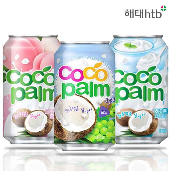 해태 코코팜 340mlx24캔 자몽소다/콜라/사이다/음료수