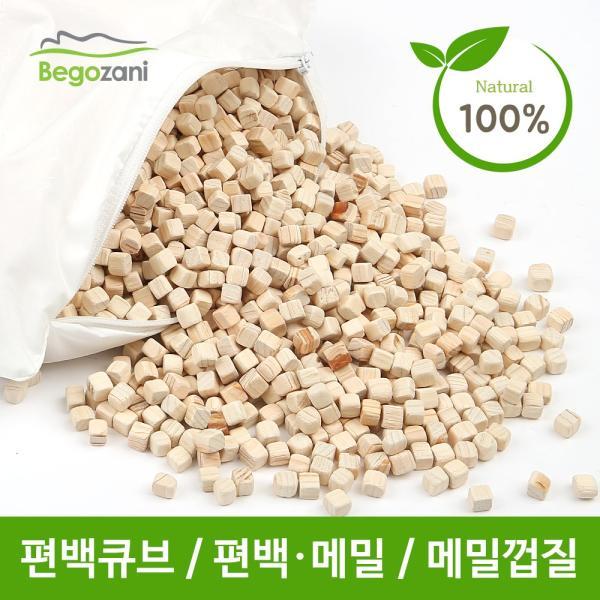 [베고자니]국내산 편백나무 큐브 3KG /항균기능 소취기능