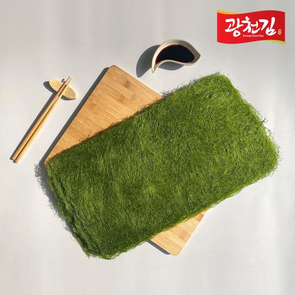 광천김 생감태10매x3봉 총30매