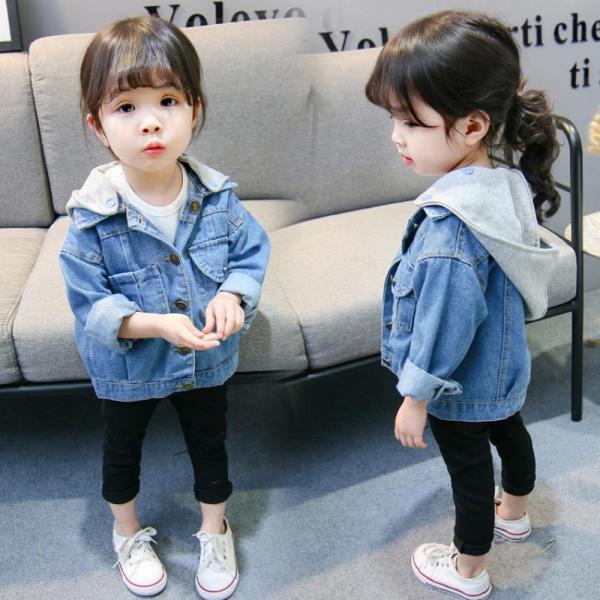 아동의류 후드 청자켓 데님자켓 아동복 유아복 유아옷 여아 유아