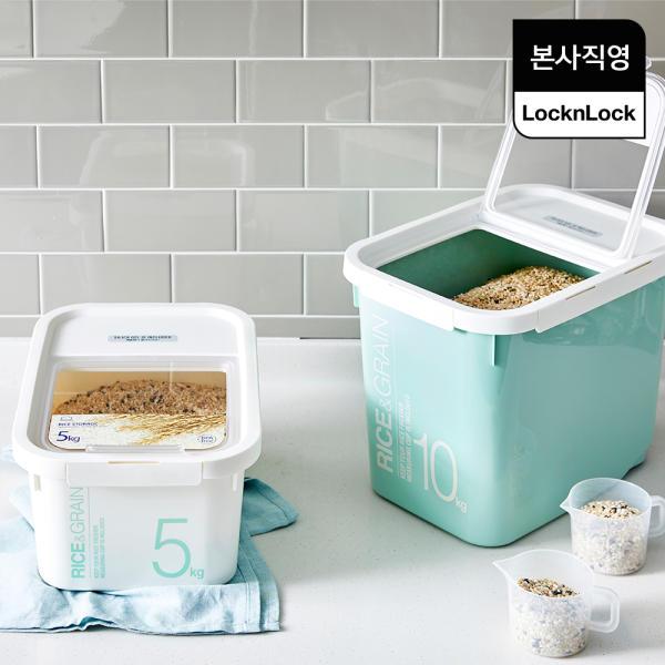 [본사직영] 락앤락 샐러드/수박통/쌀통/잡곡통/건식품 보관용기 모음전