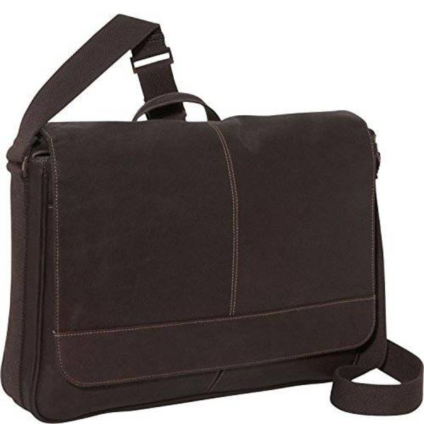 Kenneth Cole Reaction Come Bag Soon - Colombian Leather Laptop & iPad Messenger, Brown Kenn/9274277