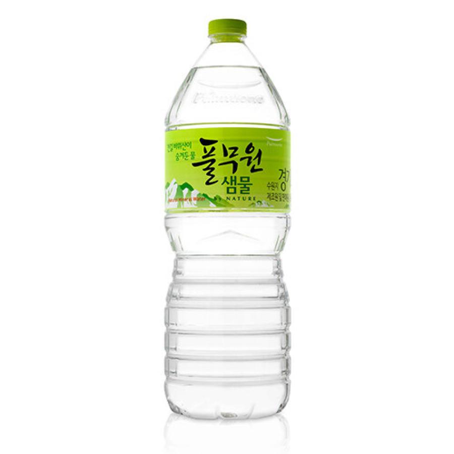 풀무원 샘물 by nature 2L 12개